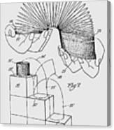 Slinky Patent 1947 Canvas Print