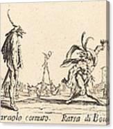 Smaralo Cornuto And Ratsa Di Boio Canvas Print