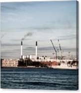 Smokestacks Pollution Canvas Print