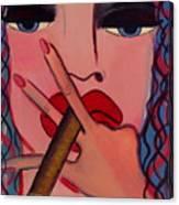 Smokey Eyes Canvas Print