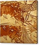 Smoky  - Tile Canvas Print