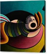 Snoring Canvas Print