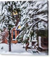 Snow... Canvas Print