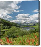 Snowdonia Lake Canvas Print