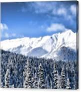 Snowmass Canvas Print