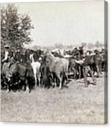 South Dakota: Cowboys Canvas Print