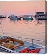 Southwest Harbor Sunrise Canvas Print