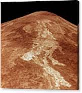 Space: Venus, 1991 Canvas Print