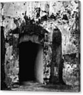 Spanish Fort Doorway Canvas Print