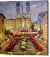 Spanish Steps, Rome Canvas Print