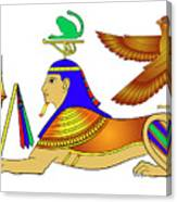 Sphinx - Mythical Creatures Of Ancient Egypt Canvas Print