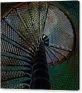 Spiral Staircase Canvas Print