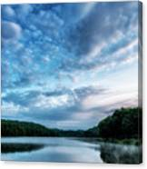 Spring Morning On The Lake Canvas Print