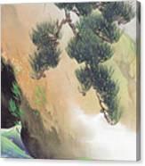 Spring Of Mountain Canvas Print