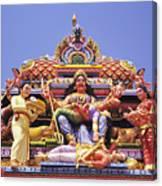 Sri Krishnan Temple Canvas Print