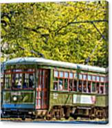 St. Charles Ave. Streetcar 2 Canvas Print