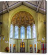 St George In The East Church London Canvas Print