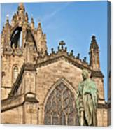 St Giles Cathedral  Edinburgh Canvas Print