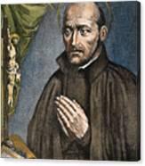 St. Ignatius Of Loyola Canvas Print