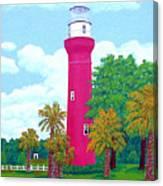 St Johns River  Lighthouse Canvas Print