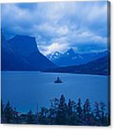 St. Mary Lake, Glacier National Park Canvas Print