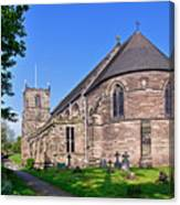 St Mary's Church - Tutbury Canvas Print