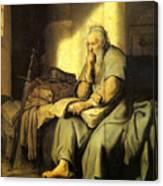 St. Paul In Prison Canvas Print