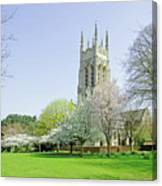 St Peter's Church - Stapenhill Canvas Print