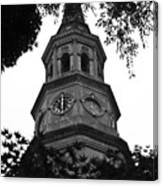 St. Philips Church Steeple Canvas Print