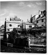 Staithes Village Canvas Print