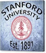 Stanford University Est. 1891 Canvas Print