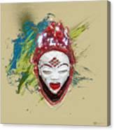 Star Spirits - Maiden Spirit Mukudji Canvas Print