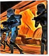Star Wars Invasion Canvas Print