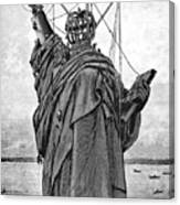 Statue Of Liberty, 1886 Canvas Print