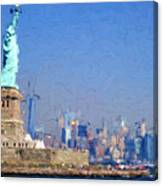 Statue Of Liberty, Nyc Canvas Print