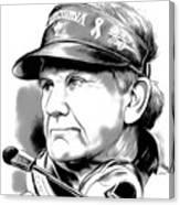 Steve Spurrier Canvas Print