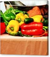 Still Life - Vegetables Canvas Print