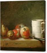 Still Life With A White Mug Canvas Print