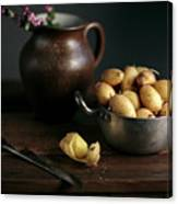 Still Life With Potatoes Canvas Print