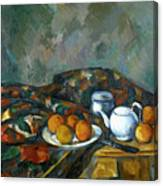 Still Life With Teapot Canvas Print