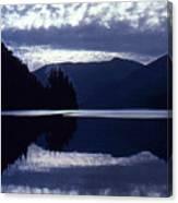 Still Mountain Lake 2  Canvas Print