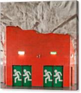 Stockholm Metro Art Collection - 005 Canvas Print