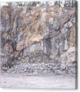 Stone Mine Canvas Print
