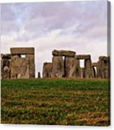 Stonehenge England United Kingdom Uk Canvas Print