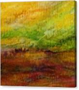 Storm At Sunrise Canvas Print