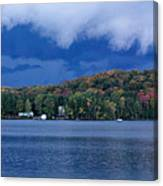 Storm Clouds Over The Lake Of Bays Canvas Print
