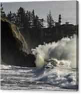 Storm Surf Canvas Print