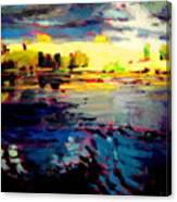Storms End Canvas Print