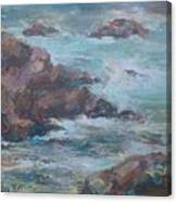 Stormy Sea Seascape Canvas Print