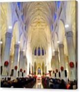 St.patricks Cathedral Restored Canvas Print